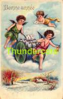 CPA ANGE ANGELOT BONNE ANNEE ANGEL CUPID NEW YEAR - Anges