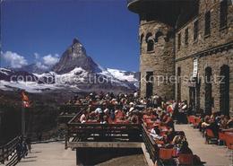 11946629 Zermatt VS Kulmhotel Gornergrat Terrasse Mit Matterhorn - Zonder Classificatie
