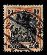 Germany 1902, Scott, 71,Deutsches Reich, 30pf. Aachen  Cancel, Used,LH - Germany