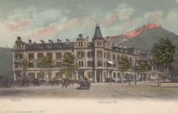MERAN-MERANO-BOZEN-BOLZANO-HABSBURGER HOF-CARTOLINA VIAGGIATA IL 13-9-1905 - Merano