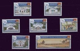 Kiribati ** 524 à 530 -  Noël - Eglises - Kiribati (1979-...)