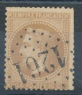N°28 NUANCE ET OBLITERATION. - 1863-1870 Napoleon III With Laurels