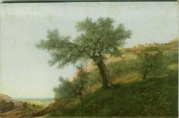 EUGENIO CECCONI SIGNED POSTCARD - LANDSCAPE - EDIT BALLERINI & FRATINI N.125 - MAILED FROM CALITRI 1934 (BG1075) - Künstlerkarten
