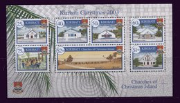 (lot 45 - B4) Kiribati **  Bloc 43 -  Noël - Eglises - Kiribati (1979-...)