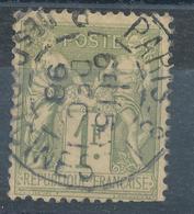 N°82 NUANCE ET OBLITERATION. - 1876-1898 Sage (Type II)