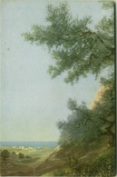 EUGENIO CECCONI SIGNED POSTCARD - LANDSCAPE - EDIT BALLERINI & FRATINI N.125 - MAILED FROM CALITRI 1934 (BG1078) - Künstlerkarten