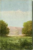 EUGENIO CECCONI SIGNED POSTCARD - LANDSCAPE - EDIT BALLERINI & FRATINI N.125 - MAILED FROM CALITRI 1934 (BG1079) - Künstlerkarten