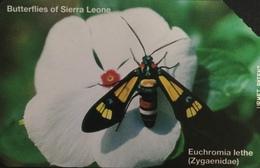 Paco \ SIERRA LEONE \ SL-SLT-0010 \ Euchromia Lethe \ Usata - Sierra Leone