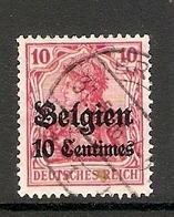 006522 German Occupation Of Belgium 1914 10c FU - Zona Belga