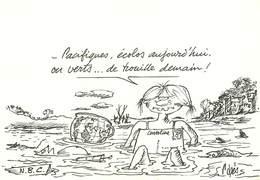 IIlustrateurs - Illustrateur Pages - Message Pour Le 3ème Millénaire - Autographe - Signature - état - Illustrators & Photographers