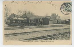 LONS LE SAUNIER - L'Arrivée Du Train BERLIN - NICE - Lons Le Saunier