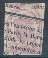 N°1 NUANCE ET OBLITERATION. - Journaux