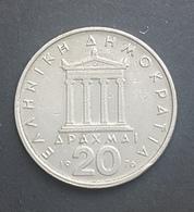 HX - Greece 1976 20 Drachma Coin - Greece