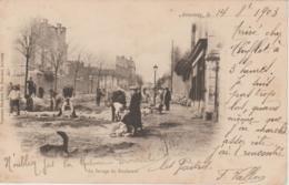 Annonay - Ardèche - Le Pavage Du Boulevard - 1903 - Annonay