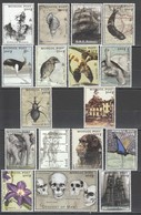 O744 MONGOL POST MILLENNIUM OF EXPLORATION CHARLES DARWIN 1809-1882 1 BIG SET MNH - Other