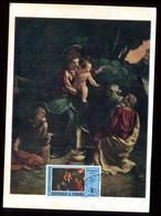 Trinité & Tobago - Carte Maximum 1972 - Oeuvre De Dosso Dossi - N33 - Trinité & Tobago (1962-...)