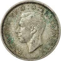 Monnaie, Grande-Bretagne, George VI, 6 Pence, 1939, TB+, Argent, KM:852 - 1902-1971 : Monnaies Post-Victoriennes
