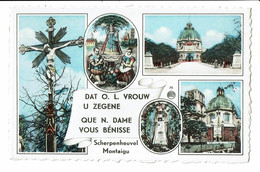 CPA - Carte Postale-BELGIQUE - Scherpenheuvel- Que N. Dame Vous Bénisse 1963- S3088 - Scherpenheuvel-Zichem