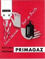 """PRIMAGAZ - DEPLIANT PUBLICITAIRE """"Butane-Propane"""" PRIMAGAZ """"L'Eau Chaude Tout De Suite"""" - Ref:A7627/30 - Pubblicitari"""