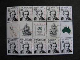 VANUATU: TB Feuille N° F 805, Neuve XX. - Vanuatu (1980-...)