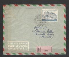 SAN MARINO 1949 UPU 100 LIRE SU BUSTA VIAGGIATA R/R - Blocchi & Foglietti