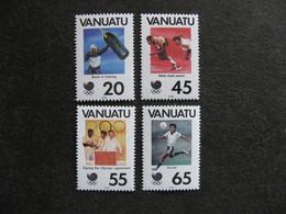 VANUATU: Série N° 806 Au N° 809, Neufs XX. - Vanuatu (1980-...)