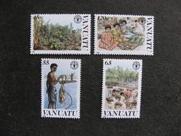 VANUATU: Série N° 814 Au N° 817, Neufs XX. - Vanuatu (1980-...)