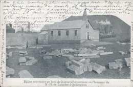 Quaregnon - Eglise Provisoire En Bois - N D De Lourdes - Circulé - Dos Non Séparé - TBE - Quaregnon