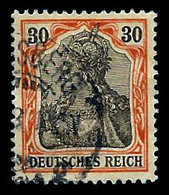 Germany 1902, Scott, 71,Deutsches Reich, 30pf. Augsberg Cancel, Used, H - Germany