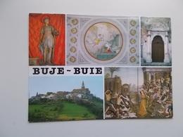 BUJE - BUIE / ZUPNA CRKVA - DUOMO DI BUIE , Portal & Panorama - Croatie