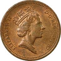 Monnaie, Grande-Bretagne, Elizabeth II, Penny, 1987, TB+, Bronze, KM:935 - 1971-… : Monnaies Décimales