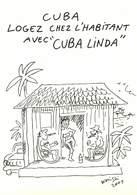 IIlustrateurs - Illustrateur Wolinski - Publicité - Cuba Linda - état - Wolinski