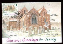 Jersey - Carte Maximum 1988 - St Brelade - N47 - Jersey