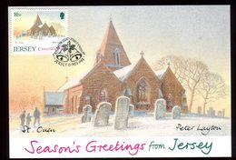 Jersey - Carte Maximum 1988 - St Ouen - N48 - Jersey