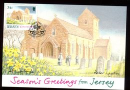 Jersey - Carte Maximum 1988 - St Lawrence - N49 - Jersey