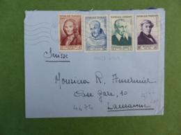 R13-N°945 à 947 + 949 Pour La Suisse - Lettres & Documents