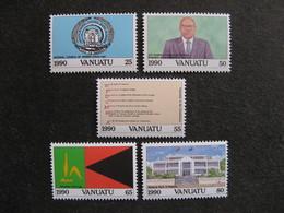 VANUATU: Série N° 846 Au N° 850, Neufs XX. - Vanuatu (1980-...)