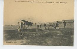 AVIATION - BOURG EN BRESSE - Souvenir Du Meeting D'Aviation Des 9,10 Et 11 Septembre 1911 - VIDART Au Démarrage - ....-1914: Précurseurs