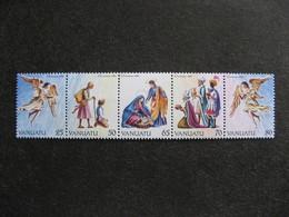VANUATU: Série N° 851 Au N° 855, Neufs XX. - Vanuatu (1980-...)