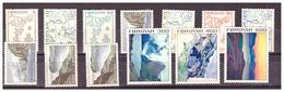 ISOLE FÆR ØER - 1975 - SERIE ORDINARIA. PAESAGGI. - MNH** - Isole Faroer