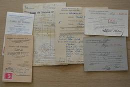 Stavelot Cartes De Sinistré - Documents Historiques