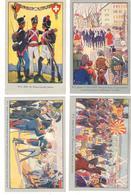 Suisse Geneve Centenaire De La Reunionde Geneve à La Suisse 1914. Serie De 10 Cartes - GE Geneva