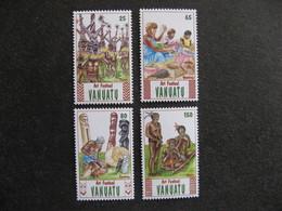 VANUATU: Série N° 860 Au N° 863, Neufs XX. - Vanuatu (1980-...)