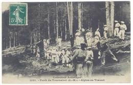 CPA Forêt Du Tournairet - Alpins Au Travail   ( S 3103 ) - France