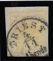 Autriche N°1 - Papier épais - Oblitéré - TB - Used Stamps