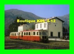 AL 191 - Autorail Billard En Gare De PONTE-LECCIA - Commune De MOROSAGLIA - Haute Corse - CFC - Frankrijk