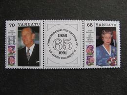 VANUATU: TB Paire N° 864 Et N° 865, Neufs XX. - Vanuatu (1980-...)