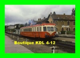 AL 317 - Autorail X 2405 En Gare - EYGURANDE MERLINES - Corrèze 19 - SNCF - Eygurande