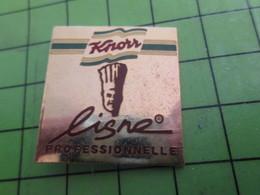 912a Pin's Pins / Belle Qualité Et Rare / ALIMENTATION : CHEF CUISINIER (Coucou Gégé) KNORR LIGNE PROFESSIONNELLE - Food