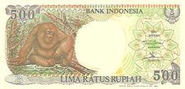 Indonesia  P-128h  500 Rupiah  1999 UNC - Indonésie